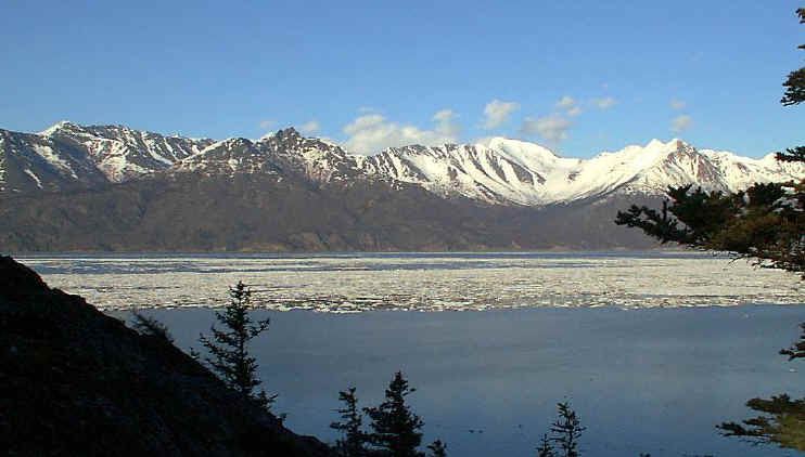 Turnagain Arm View. Photo by Mike Wilson.