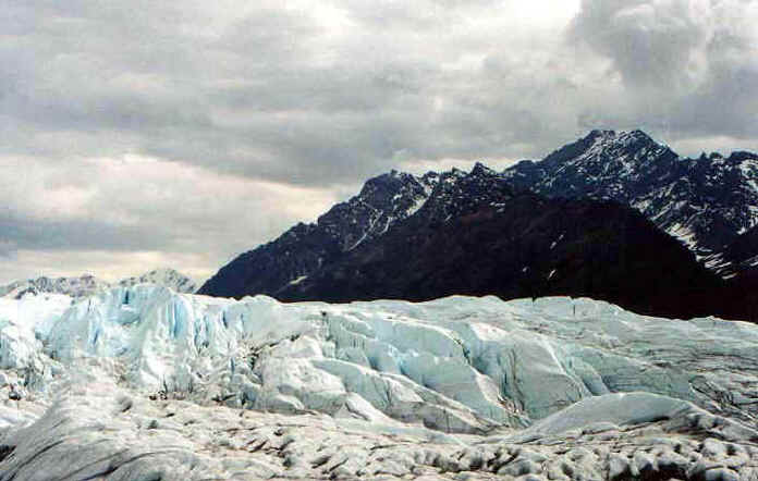Terminus of the glacier