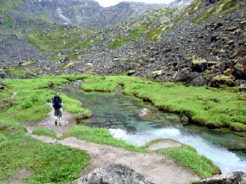 Reed Lakes – Alaska Hike Search