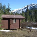 Fox Creek cabin.