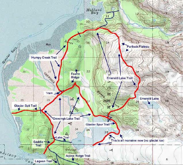 Grewingk Valley topo map