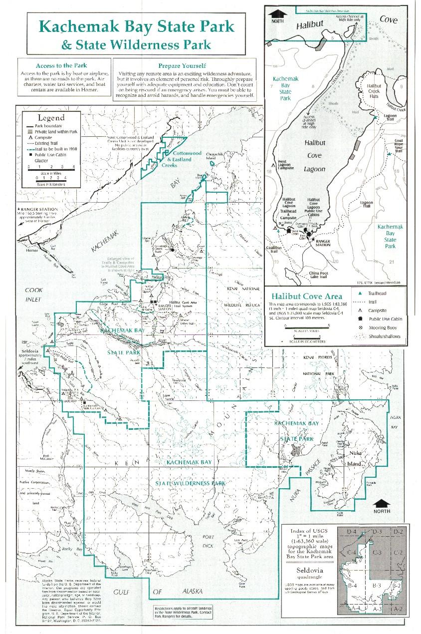 Otterbahn Trail topo map