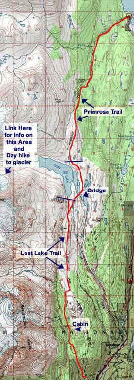 Lost Lake topo map