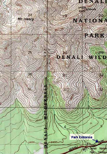 Mt. Healy topo map